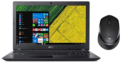 Acer Aspire A315-21 15.6-inch Laptop+Logitech Mouse