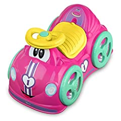 Idea Regalo - Chicco Gioco Cavalcabile All Around, Rosa, 1-3 Anni