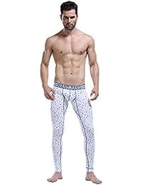 NiSeng Pantalones Termicos Largo Leggings Compresion Ropa Interior de invierno para hombre