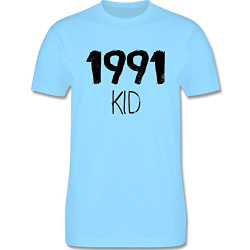 Geburtstag - 1991 KID - Herren Premium T-Shirt Hellblau