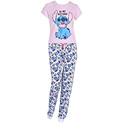 Pijama Blanco Rosa Stich (Disney) - EU 40-42 / UK 12-14