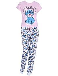 Pijama Blanco Rosa Stich (Disney)