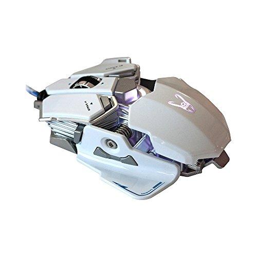 Woxter Stinger GX 250 M White - Ratón gaming profesional con estructura...