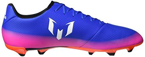 adidas Herren Messi 16.3 Fg Fußballschuhe Blau (Blue/Footwear White/Solar Orange)
