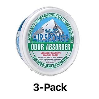 Environmental Air Odor Sponge Smell Absorber Pet Cat Dog Tobacco Mildew (3-Pack)