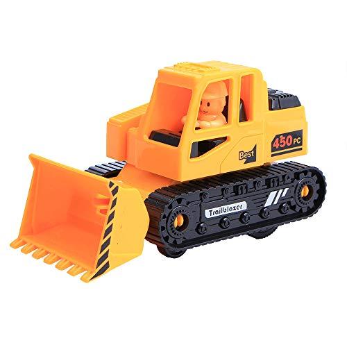 Coupon Matrix - Singular-Point CM© toys Clearance! Newest Vehicle Children CM© toy Decor Diecast Pull Back Bulldozer Model