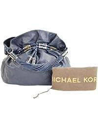 Blue Leather 37mka2617 Hobo Bag