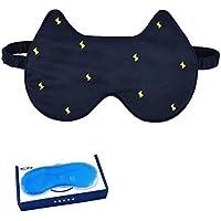 liu Augenmaske/Schlafmaske - Seidenbrille Schlafen Eisbeutel Schatten Kalt Atmungsaktiv Weiblich MäNnlich Bequem preisvergleich bei billige-tabletten.eu