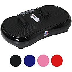 Gym Master Slim Crazy Fit Vibration Plate With Silent Drive Motor - For Weight Loss & Body Toning