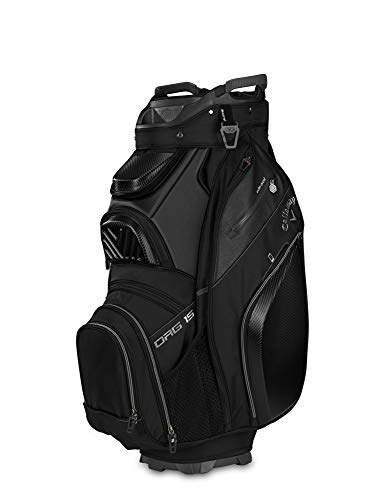 Callaway Golf 2019 Org 15 Cartbag, CART Bag, schwarz -