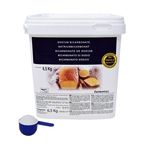 NortemBio Bicarbonato de Sodio 6,5 kg. Grado Alimentario Producto CE.