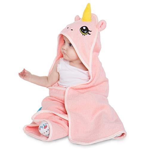 Corimori Rose El Unicornio Toalla De Baño Con Capucha