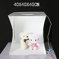 Mini Photo Studio Caja de fotografía plegable LED Mini Light, Lampe, 40X40X42CM