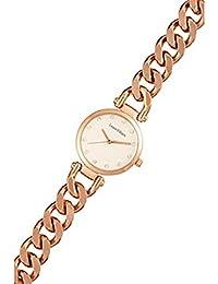 Reloj mujer Louis Villiers reloj 33 mm en steel blanco y pulsera dorado en Metal al2927 – 06