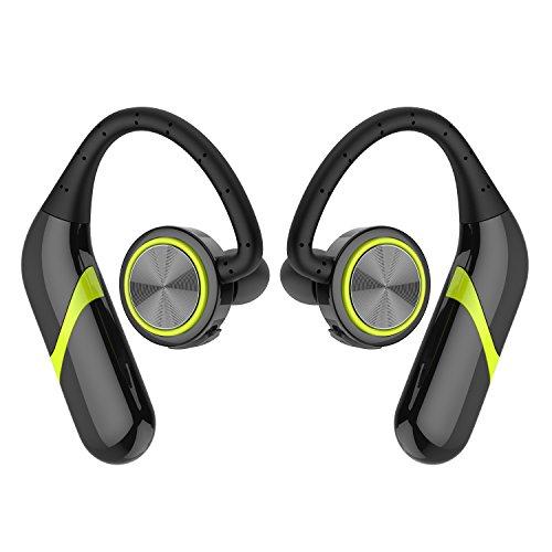 GSPON Bluetooth Auriculares, Bluetooth inalámbrico Auriculares de Oído en los Auriculares de Oído Hörmuschel errichtet con Mic para iPhone androide teléfono Móvil