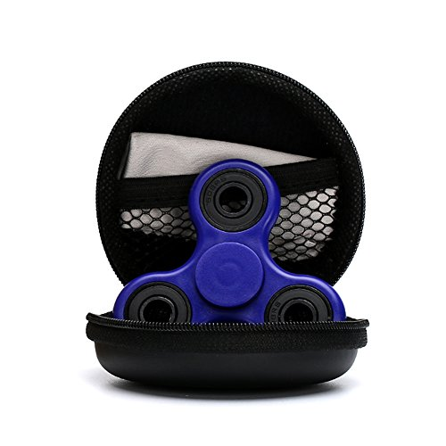 Preisvergleich Produktbild Fidget Toys Hand Spinner Finger Spielzeug für Kinder und Erwachsene Spielzeug Geschenke,(Blue)