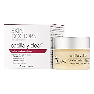 Skin Doctors Capillary Clear, Helps improve the appearance of broken capillaries, Reduces the appearance of burst blood vessels, help to reduce facial redness and promote an even complexion - 50ml