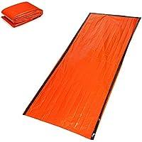Saco de Dormir de Emergencia Supervivencia Bolso Bivvy Kits Emergency Bolsa de Dormir Ligero Acampada Manta