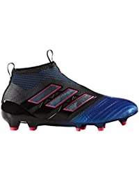 huge discount aac88 710e9 Adidas, Ace 17 +Purecontrol FG, scarpe da calcio da bambini, nero