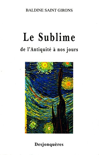 Le Sublime : De l'Antiquité à nos jours