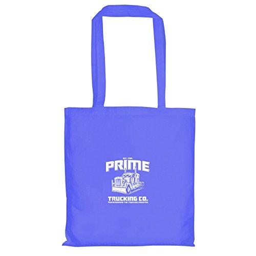 TEXLAB - Prime Trucking - Stoffbeutel, blau