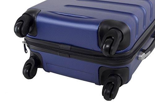 41P9IDzlqAL - Maleta rígida PIERRE CARDIN azul mini equipaje de mano ryanair S210