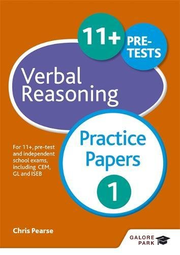 11+ Verbal Reasoning Practice Papers 1: For 11+, pre-test and independent school exams including CEM, GL and ISEB