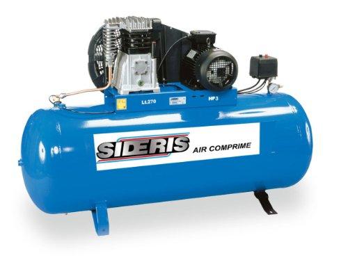 Compresseur air bicylindre 270L 3cv monophasé