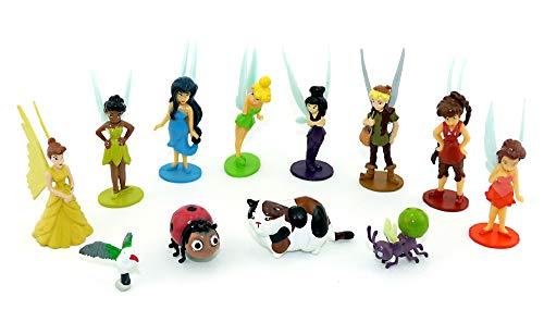 Kinder Überraschung Disney Fairies Tinkerbell. Alle 12 Figuren der Serie (Kinder Tinkerbell Für)