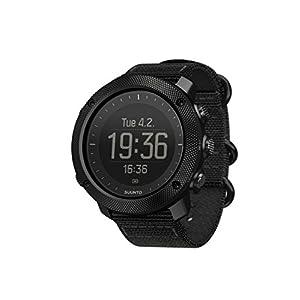 Suunto - Traverse Alpha - SS022469000 - Reloj GPS Outdoor para pesca, caza y excursionismo - Sumergible - Negro Stealth - Talla única