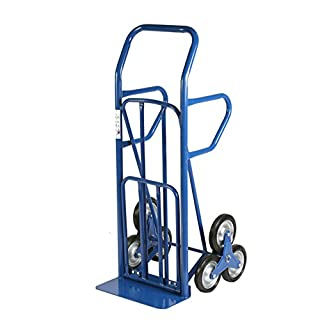 Archimedes HT Trolley Convertible For Stairs, Metal, Blue, 55x 80cm x 140cm