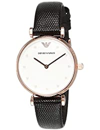 Emporio Armani Analog White Dial Women's Watch-AR11270