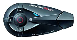 Interphone F5mc Twin-pack Bluetooth 3.0 Handsfree Motorcycle Headset For Intercom, Phone Calls, Gps Navigation, Fm Radio, Music Playback