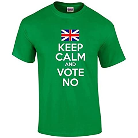 Keep Calm E Vota NO Indipendenza Scozzese T-Shirt Unisex 16
