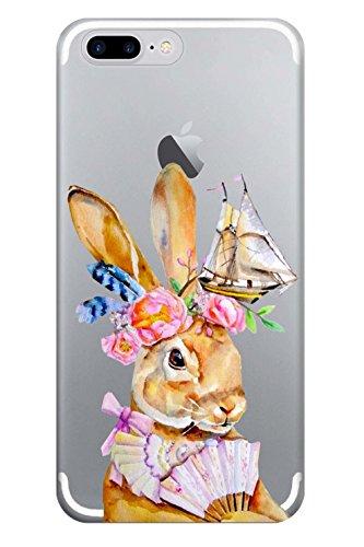 Blitz® ZENITH motifs housse de protection transparent TPE caricature bande iPhone Chat avec M13 iPhone X Haase avec des bijoux M4