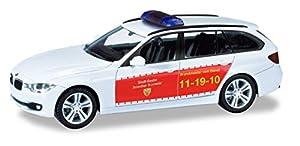 Herpa 094894 BMW 3 Touring Bomberos Goslar en Miniatura para coleccionar Manualidades y como Regalo, Multicolor