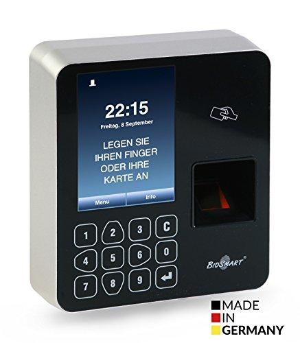 GP Systems WTC2 Fingerprint und RFID Zeiterfassung/Zutrittskontrolle