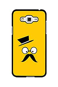 Caseque Master Mustache Back Shell Case Cover For Samsung Galaxy Grand 3