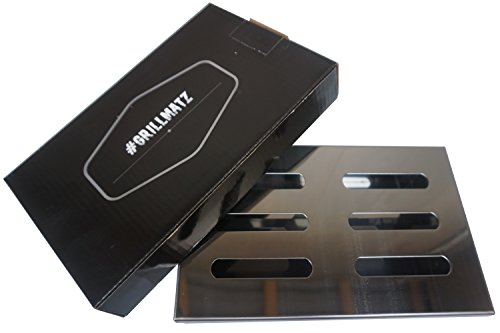 #Grillmatz Räucherbox – Smokerbox Gasgrill – Aus hochwertigem Edelstahl – Zum Smoken/Räuchern