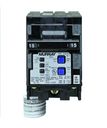 Murray mp215afc 15-amp 2Pole 120-volt Kombination Typ Arc Fault Circuit 13479 (Siemens Fault Arc)