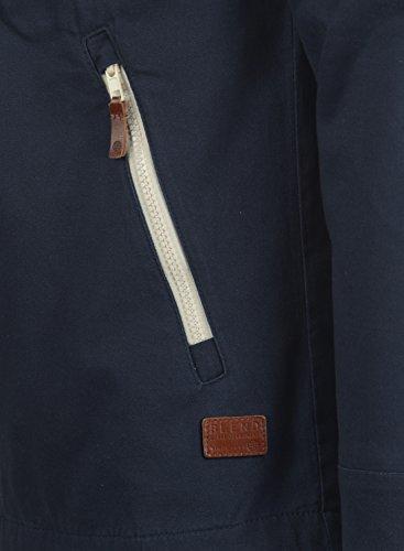 Blend Bobby Herren Übergangsjacke Herrenjacke Jacke gefüttert mit Kapuze, Größe:S, Farbe:Navy (70230) - 5
