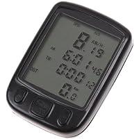 SODIAL (R) Tachimetro calcolatore impermeabile LCD della