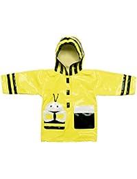 Kidorable Kids Bumble Bee Hooded Raincoat (Medium 104-110cm)