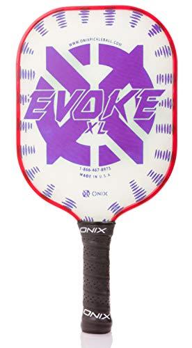ONIX compuesto Evoke XL Pickleball paleta, Unisex, morado