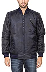 Spykar Mens Blue Regular Fit Mid Rise Jackets (XX-Large)
