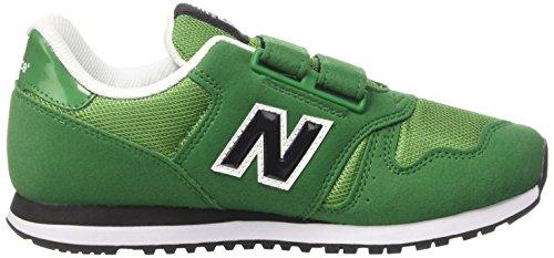 New Balance Kv373gey M, Baskets Basses Mixte Enfant Vert (Green)
