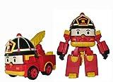 Robocar poliert–54057–Fahrzeug umbaubar N ° 2–Modell zufällige Roy/héli/Bucky 10cm
