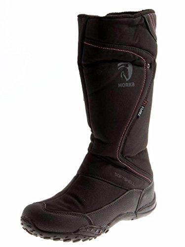 Horka Thermo Stiefel Fleece-Futter Wasserdicht Tex schwarz Clare 146203 EU 39