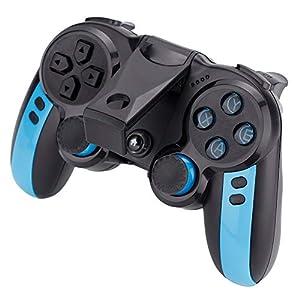 Wireless Gaming Controller, 2,4 G Wireless Bluetooth Gamepad Remote Joypad Joystick für TV/PC/Handys/Set-Top-Box, Unterstützung für iOS und Android