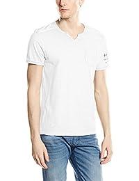Kaporal Lokoa - T-shirt - Uni - Col ras du cou - Manches courtes - Homme